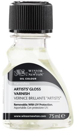 Winsor and Newton Gloss Varnish 75ml