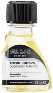 Winsor and Newton Refined Linseed Oil 75ml