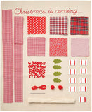 Docrafts Simply Make Hanging advent Calendar Sewing Kit