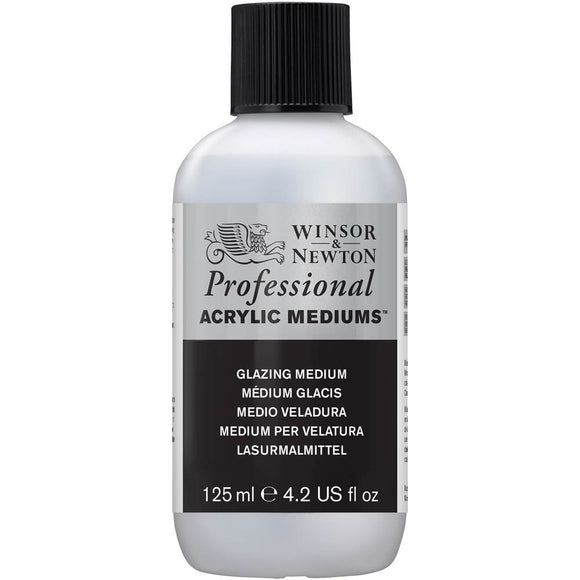 Winsor and Newton Artist Acrylic Glazing Medium 125ml