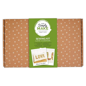 "Docrafts Simply Make ""love"" Cushion Sewing Kit"