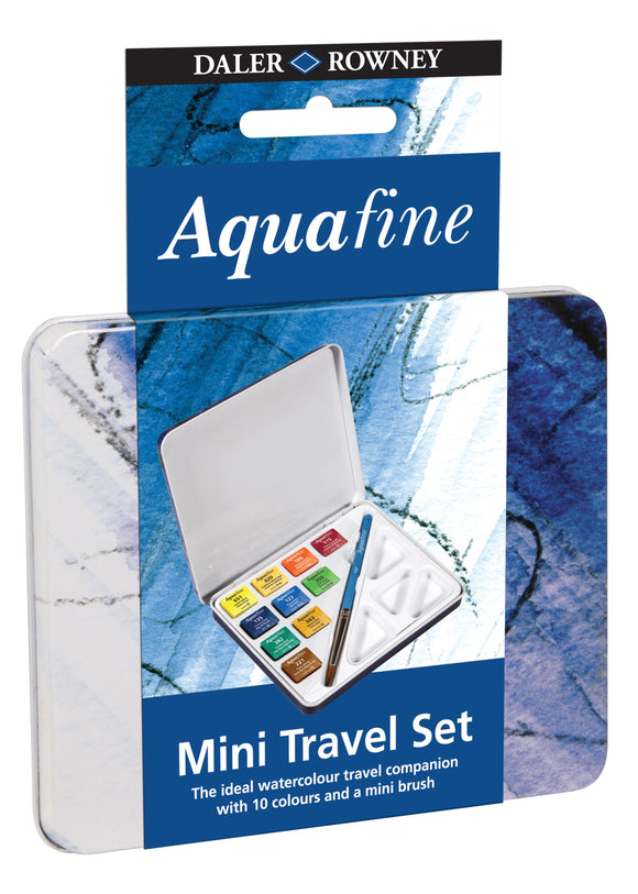 Aquafine 10 Half Pan Mini Travel Set