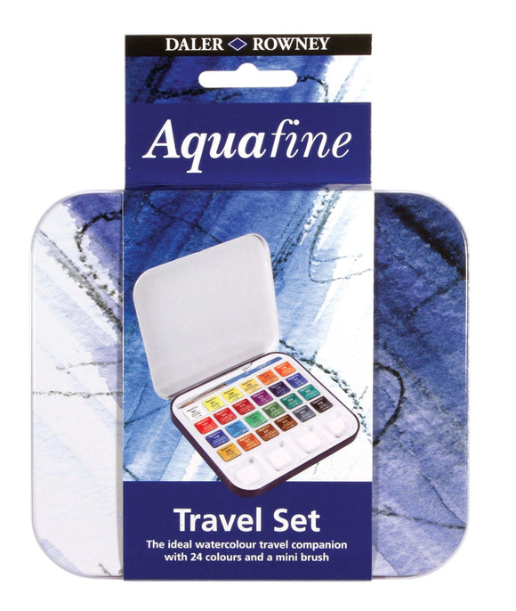 Aquafine 24 Half Pan Travel Set