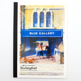 "Bespoke Blue Galley Bockingford ""Not"" Watercolour Pad 140lb 300gsm 10sh"