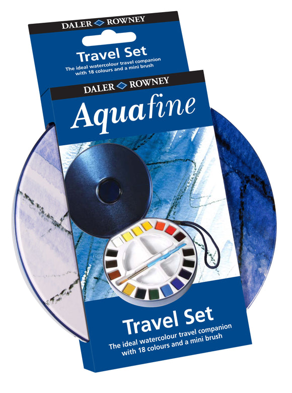 Aquafine 18 Half Pan Travel Set