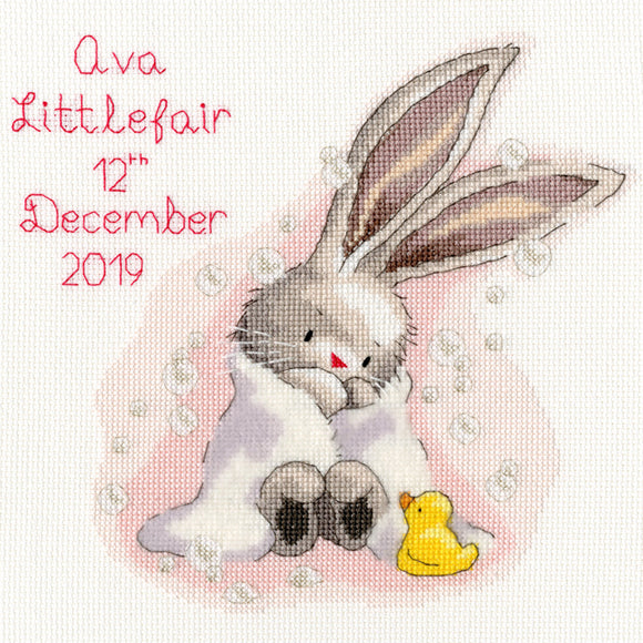 Bubbles Cross Stitch Kit