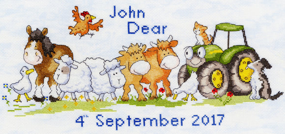 First Born Cross Stitch Kit