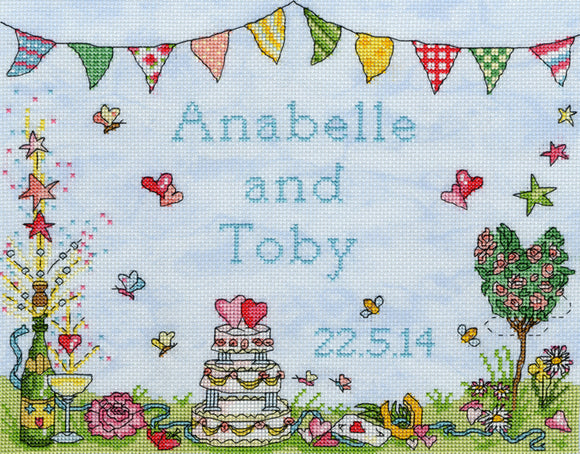 Wedding Celebration Cross Stitch Kit