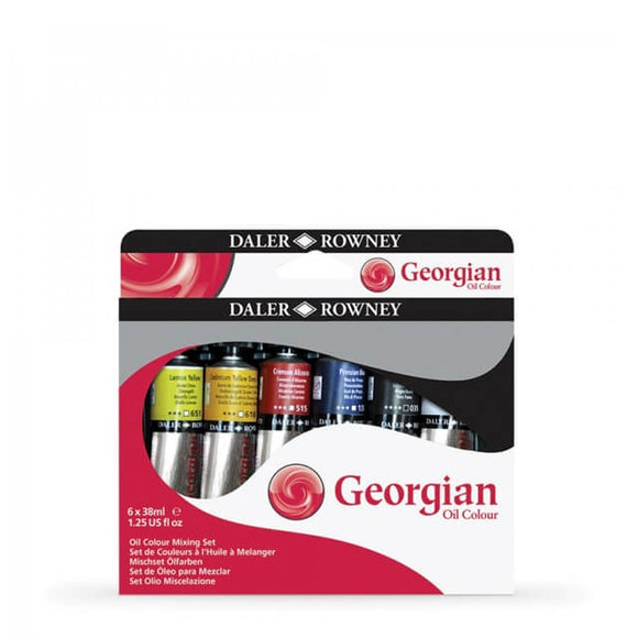 Georgian Oil 6x38ml Mixing Set