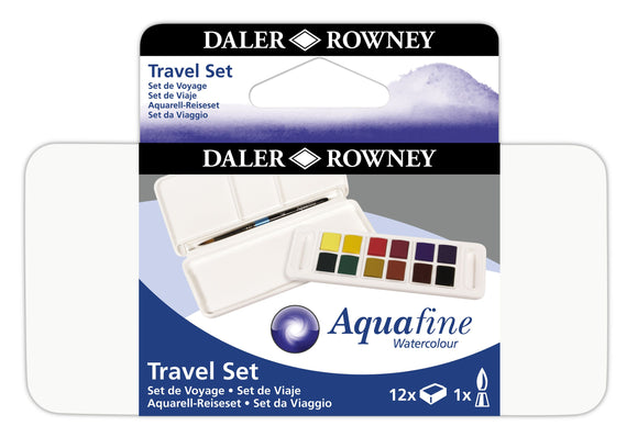 Aquafine 12 Half Pan Travel Set - New Lower Price