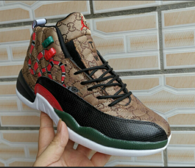 Gucci Jordan 12's Shoes