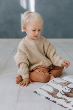 Load image into Gallery viewer, PRE-ORDER Kids of April Chunky Jumper in Almond
