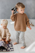 Load image into Gallery viewer, Kids of April Chunky Jumper in Toffee (PRE-ORDER)
