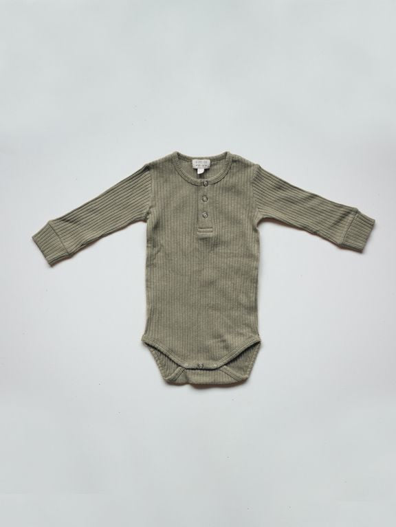 The Simple Folk Ribbed Onesie