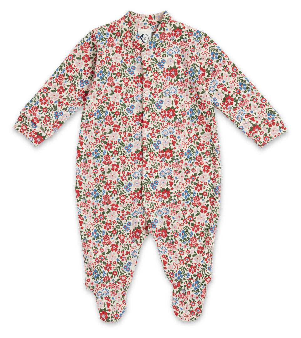 Sleepy Doe Baby Sleepsuit Winter Floral