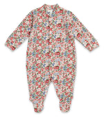 Load image into Gallery viewer, Sleepy Doe Baby Sleepsuit Winter Floral