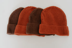 KINDLY knit beanie (espresso)
