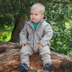 Load image into Gallery viewer, PRE-ORDER Engel Natur Organic Merino Wool Overall - Light Grey