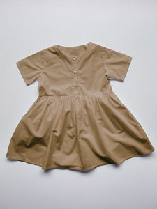 The Simple Folk Simple Dress in Camel