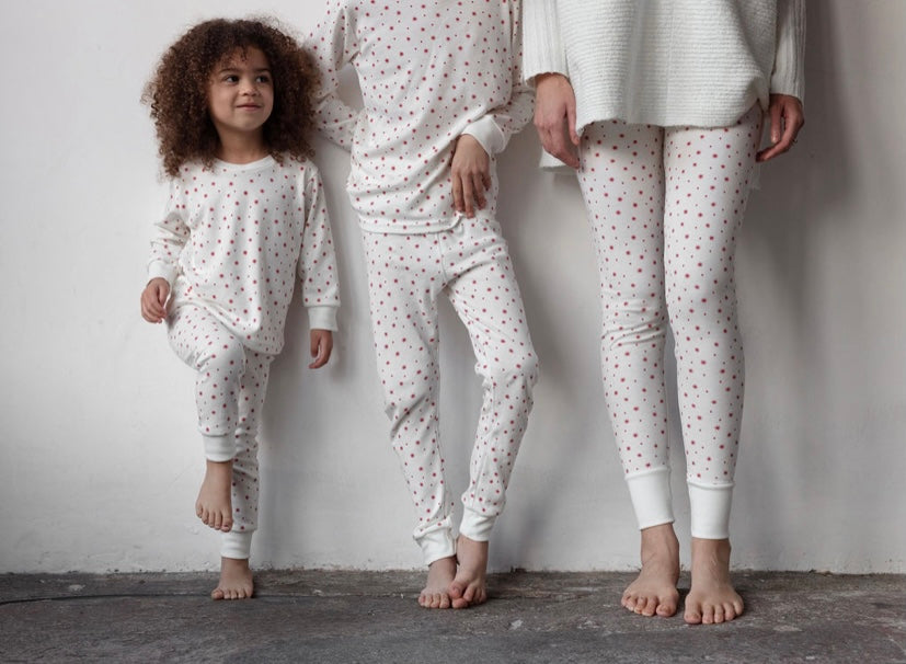 Sleepy Doe Classic PJ Set Winter Star