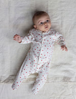 Load image into Gallery viewer, Sleepy Doe Baby Sleepsuit Winter Star