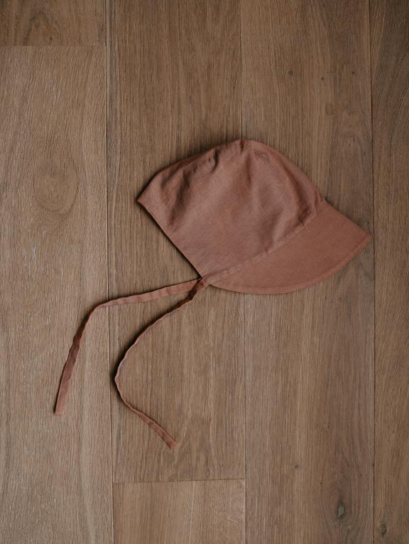 The Simple Folk Old-Fashioned Bonnet in Cinnamon