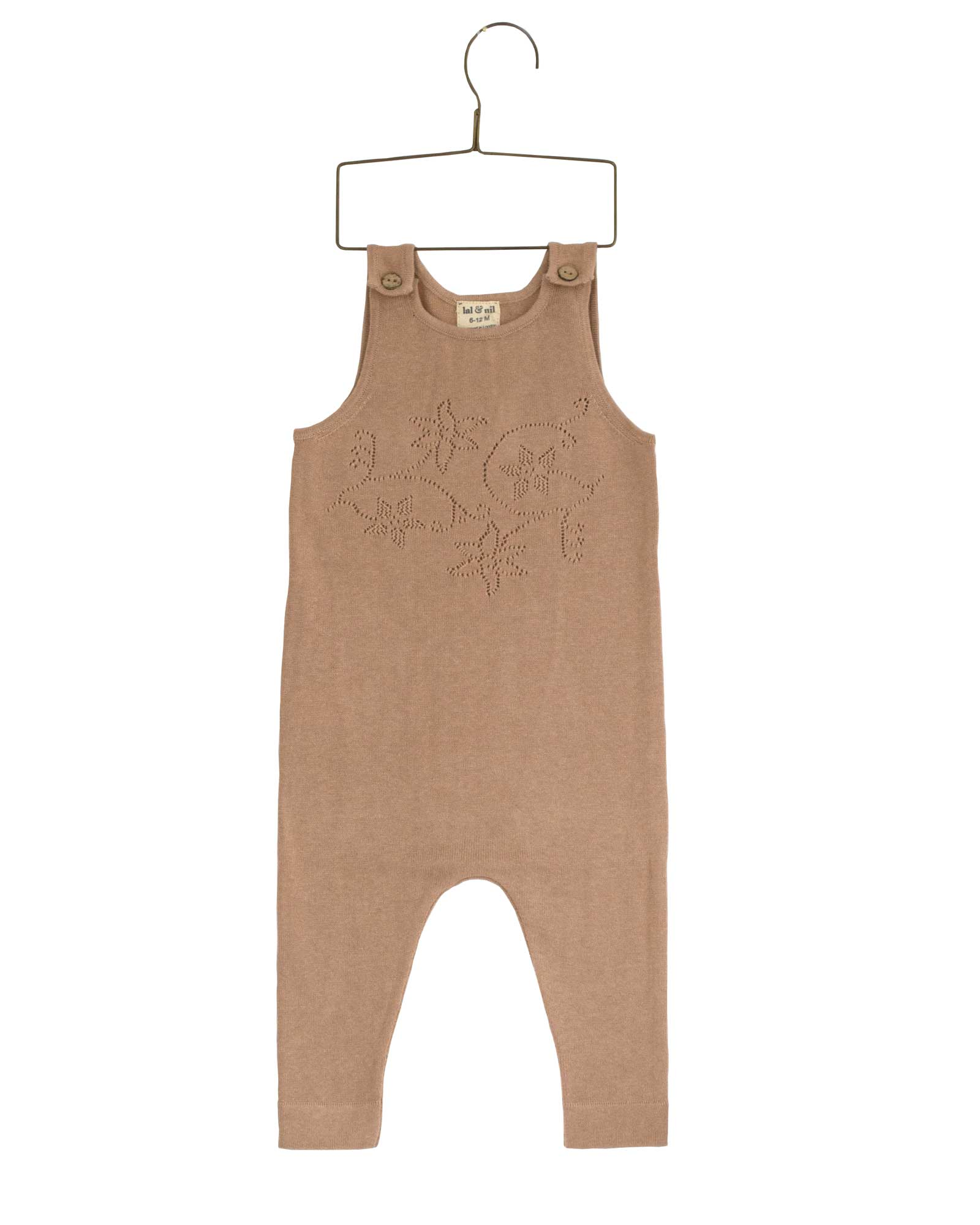 Lal & Nil Dungaree - Sunset (Dusty Pink)