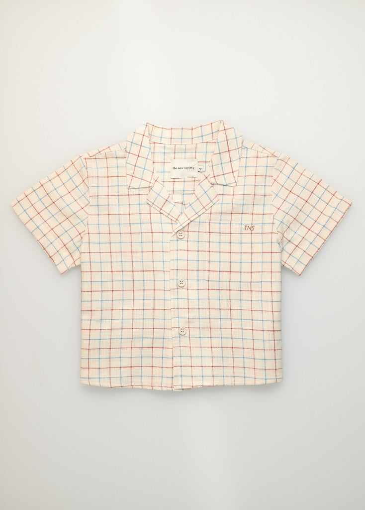 The New Society Dylan Cotton Shirt