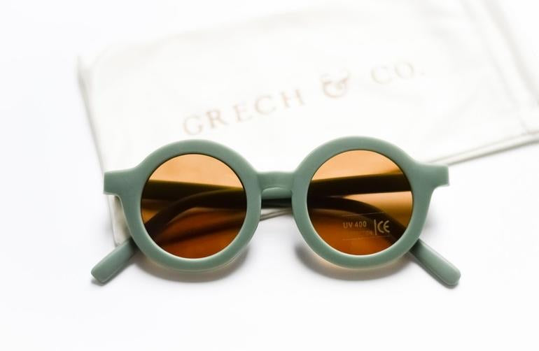 PRE-ORDER Grech & Co Sustainable Sunglasses - Fern