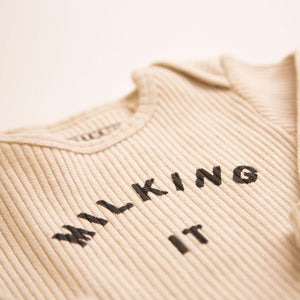 Claude & Co 'Milking It' ® Organic Oat Rib Bodysuit