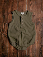 Load image into Gallery viewer, The Simple Folk Seeker Romper in Olive