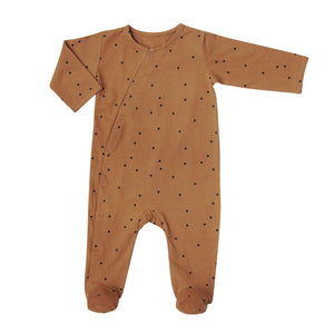 Bonjour Little Baby Day + Night Sleepsuit Dots Nut