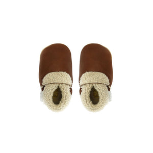 Bobux Soft Sole Slink Woolly Moccasin