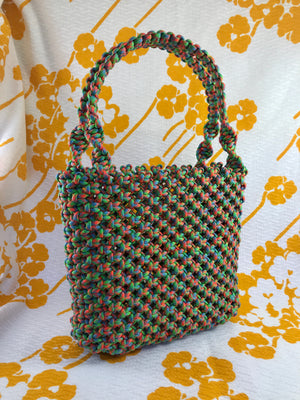 Large Paracord Macrame Tote