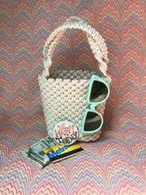 Load image into Gallery viewer, Macrame Mini Tote