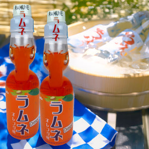 Miyako Ramune Orange 6.76floz (200ml) x 30 bottles