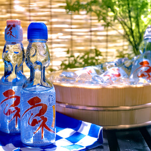 Miyako Ramune Blue Hawaii 6.76floz (200ml) x 30 bottles