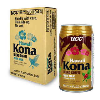 UCC Hawaii Kona Blend Coffee with Milk 11.4floz (337ml) (SKU: 14902)