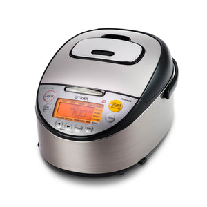 Tiger IH Rice Cooker With Tacook Cooking Plate - 5.5 Cups (SKU: 16142)