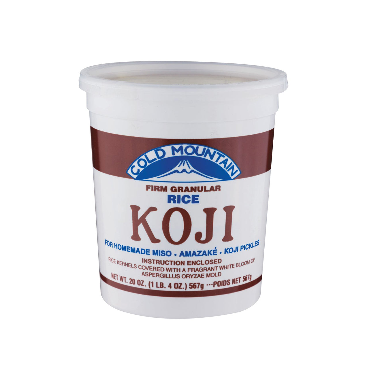 Cold Mountain Dry Koji Rice 20oz (567g) (SKU: 20201)