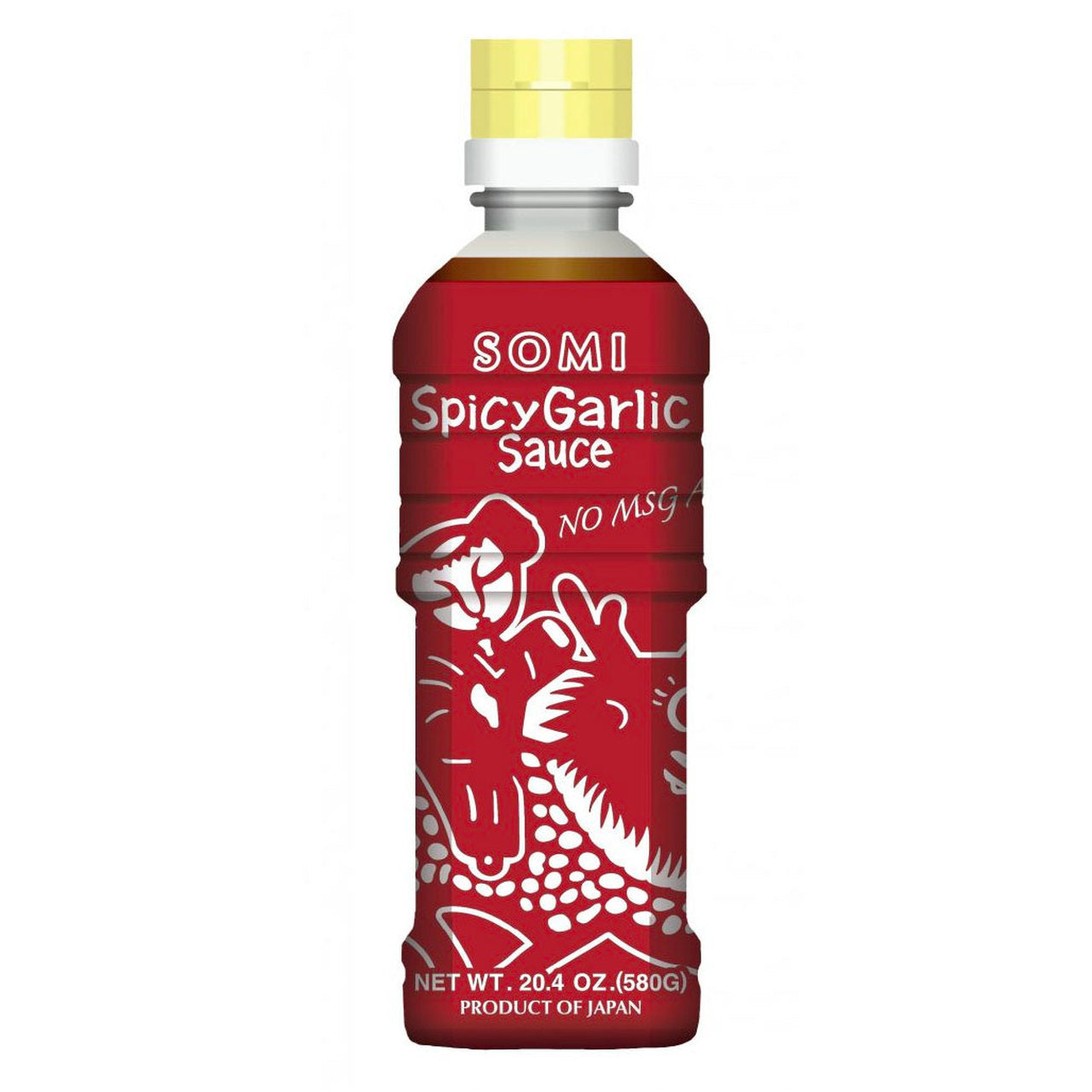 Somi No-MSG Spicy Garlic Sauce 20.4oz (580g) (SKU: 23002)