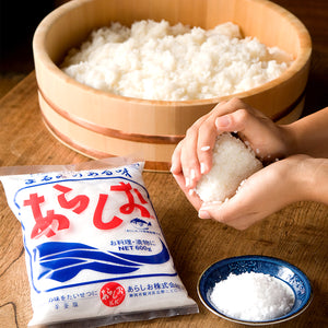 Arashio Coarse Sea Salt 21.1oz (600g)