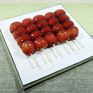 Mitarashi Dango Rice Cake 10 skewers, 22.9oz (650g)