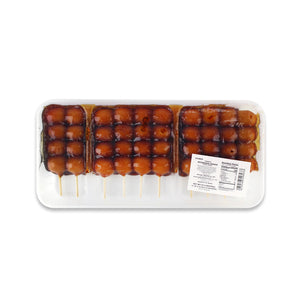 Mitarashi Dango Rice Cake 10 skewers, 22.9oz (650g) (SKU: 54893)