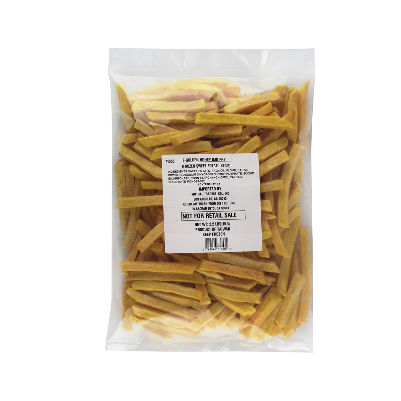Golden Honey Potato Fry 2.2lbs (1kg) (SKU: 71055)