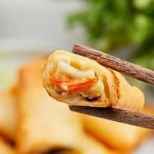 Mini Vegetable Spring Rolls 60pcs 2.24lbs (1kg)