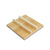 "Lid for Tamagoyaki Omelette Pan (9.5"" x 9.5"") (SKU: 91364) - A wooden lid for SKU: 91363 Copper Tamagoyaki Omelette Pan Large."