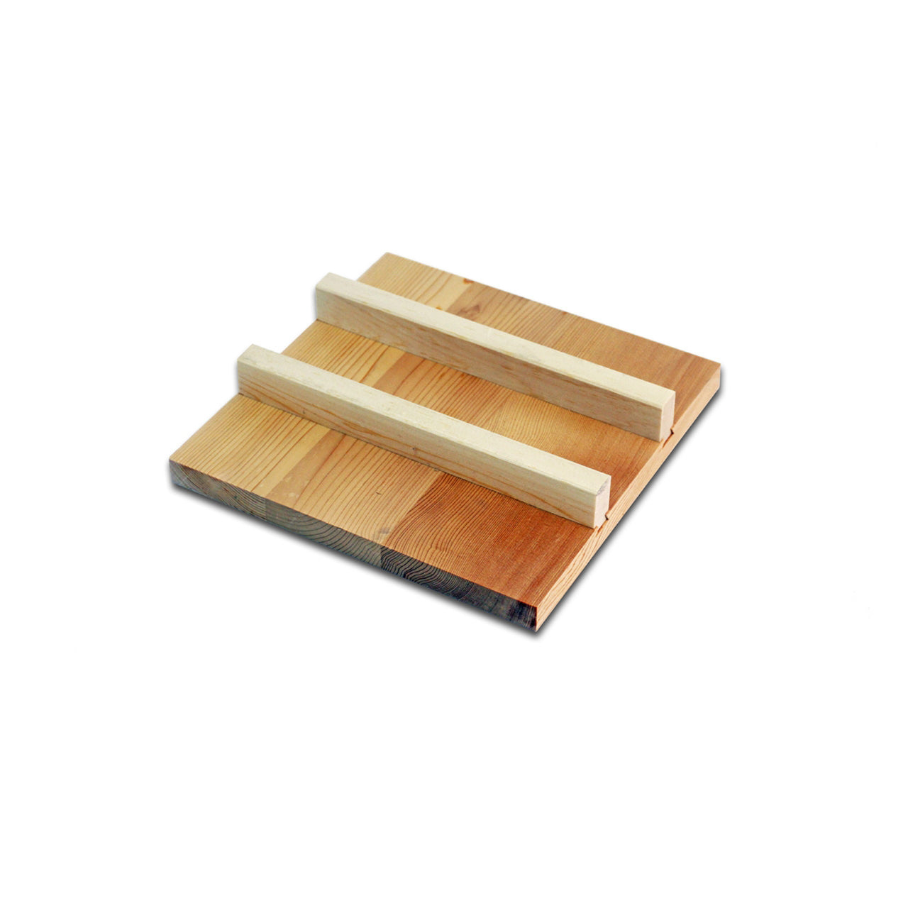 "Lid for Tamagoyaki Omelette Pan (8.5"" x 8.5""). A wooden lid for SKU: 91366 Copper Tamagoyaki Omelette Pan Medium."
