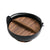 "Yamaga Cast Iron Pot with Wooden Base - Medium (SKU: 93677) - 7.1"" (18cm) dia. x 3.1"" (8cm) H."