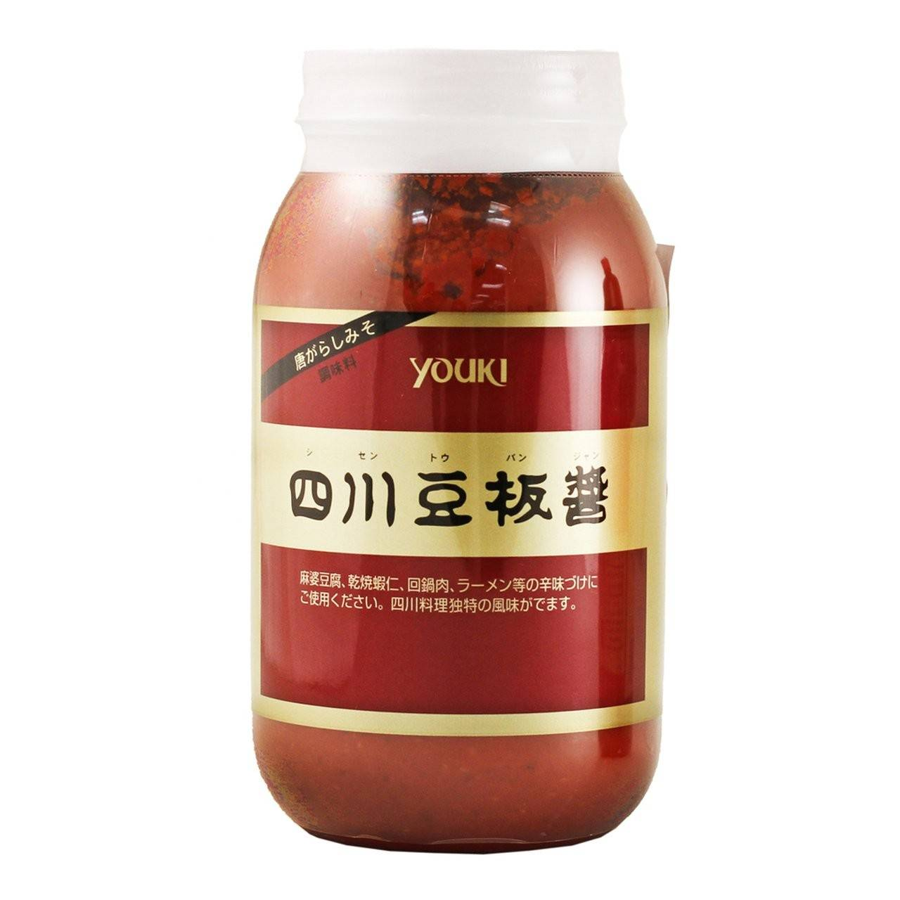 Youki Tobanjyan Chili Bean Paste 2.2lbs (1kg) (SKU: 6615)